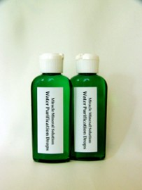 WP (WPD) 2 small bottles of sodium chlorite 28%